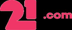 21.com logo